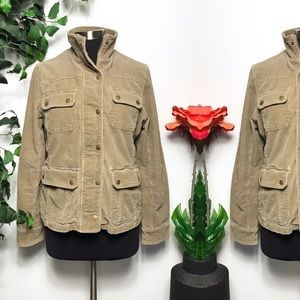 Kut From The Kloth Tan Corduroy Jacket Size - L